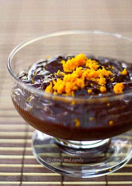 Chocolate and Orange Sabayon